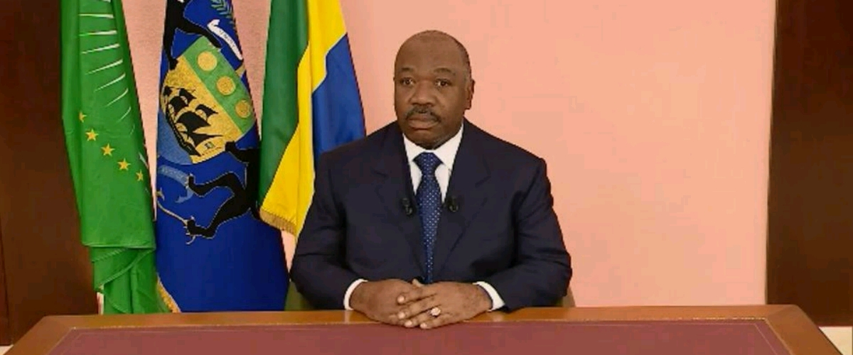 Photo : Présidence gabonaise