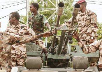 Des soldats tchadiens -  © DJIMET WICHE - AFP