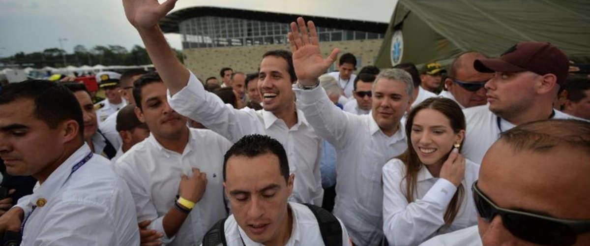 Juan Guaido    LUIS ROBAYO / AFP Ouest-France