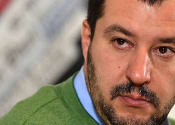 Matteo Salvini (Photo de GABRIEL BOUYS)