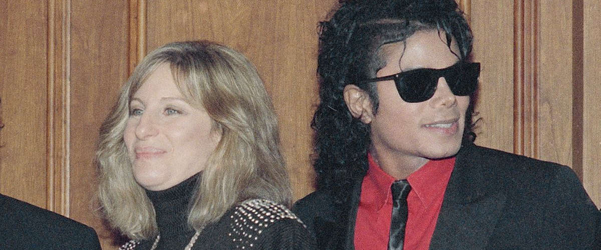 Barbra Streisand, & Michael Jackson. (Mark Avery)