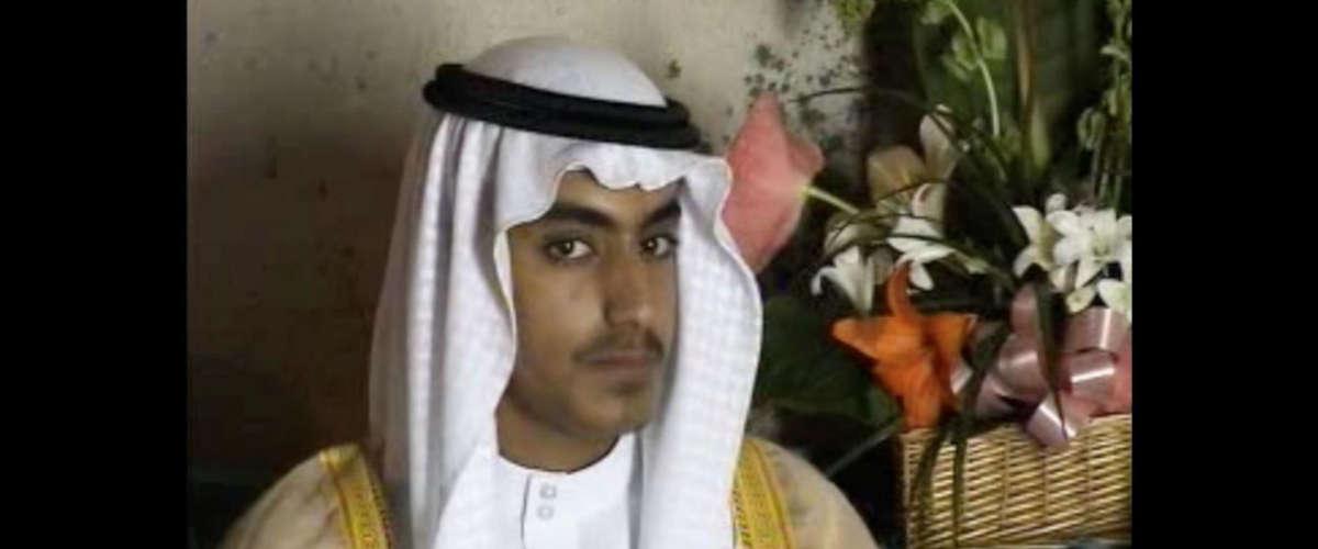 Hamza Ben Laden AFP PHOTO / FEDERATION FOR DEFENSE OF DEMOCRACIES