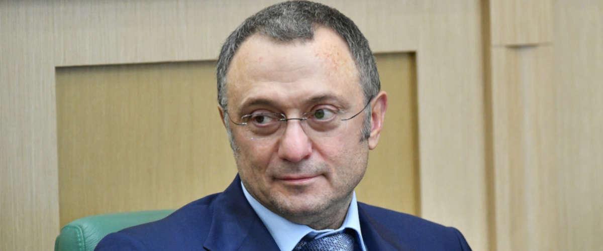 L'homme d'affaires russe Souleïman Kerimov. Maksim Blinov/AFP