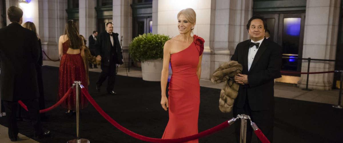 Kellyanne Conway et son mari George (Matt Rourke / AP)