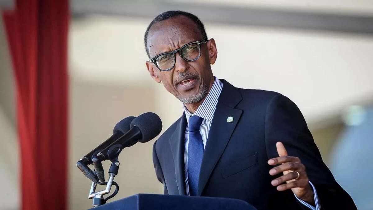 Paul Kagame (Photo AP - John Muchucha)