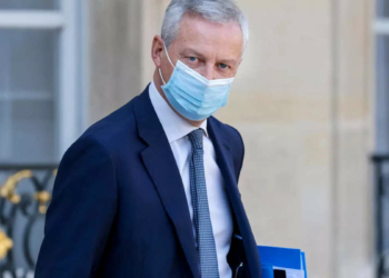 Bruno Le Maire (Photo de Ludovic MARIN AFP)