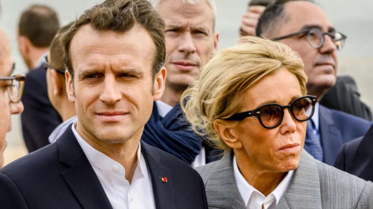 Brigitte et Emmanuel Macron © Eliot Blondet / Pool / Bestimage