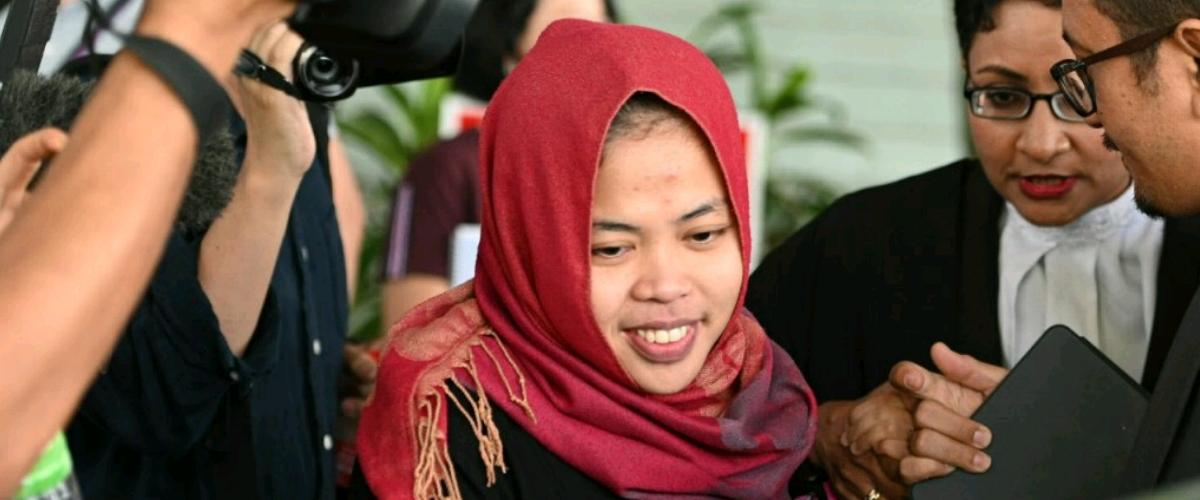 Siti Aisyah. Photo : Mohd Rasfan, AFP