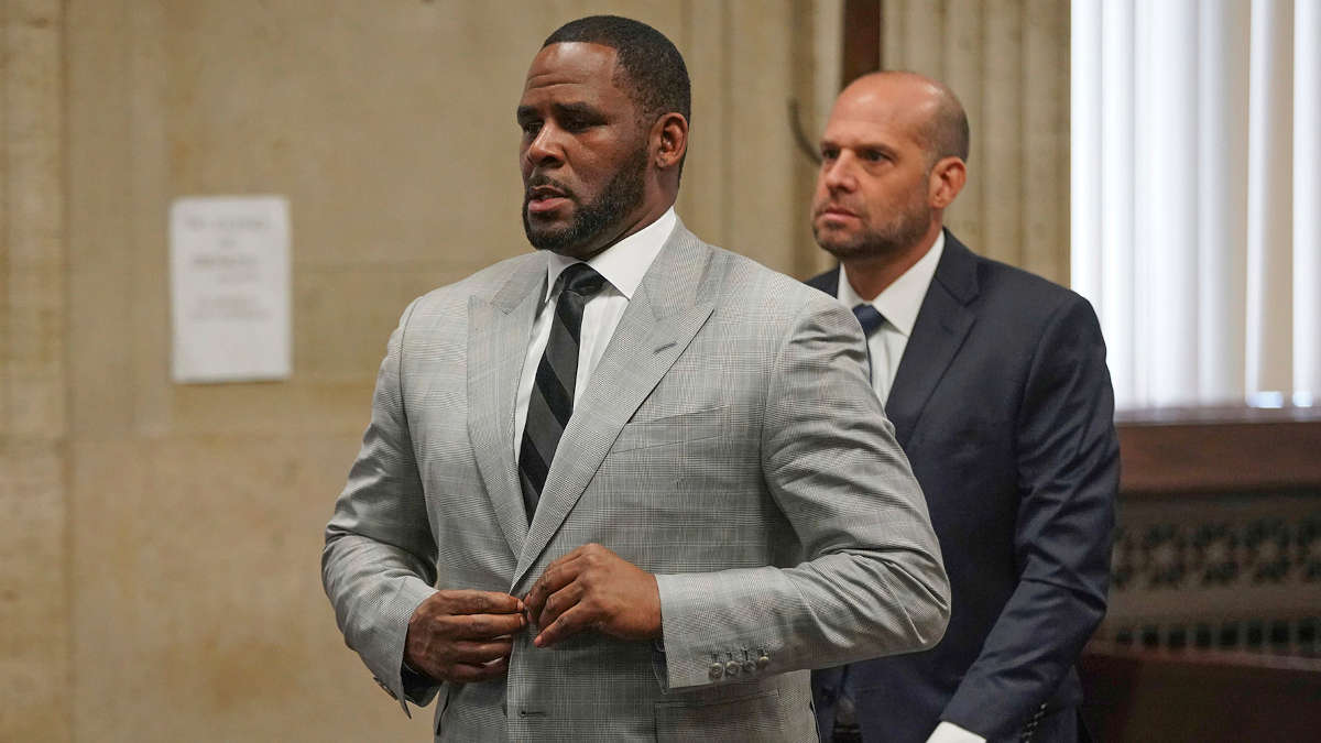 R. Kelly au tribunal. 