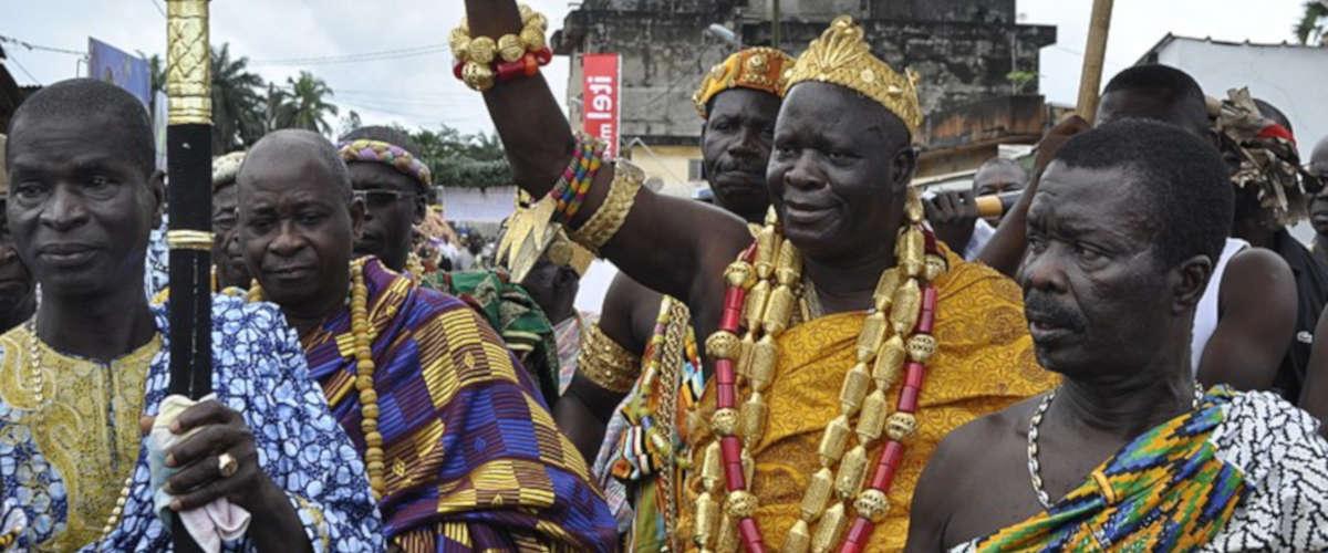 Nanan Amon N'douffou V, Ph: Aman ADO