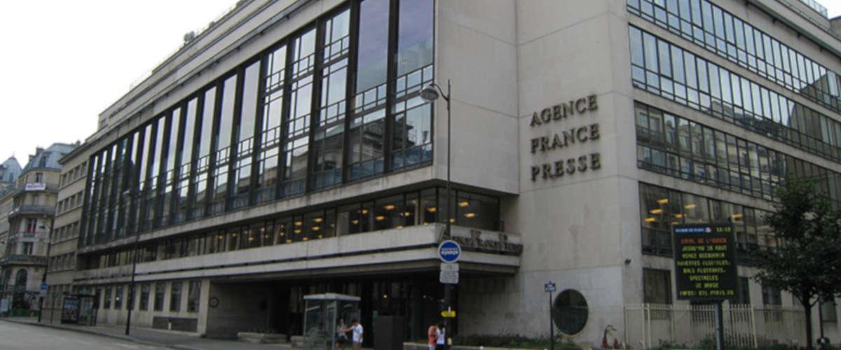 Siège de l'AFP à Paris