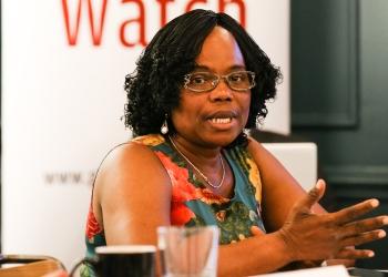 Blanche Sonon, Présidente de Social Watch Benin (Ph iisd.org)