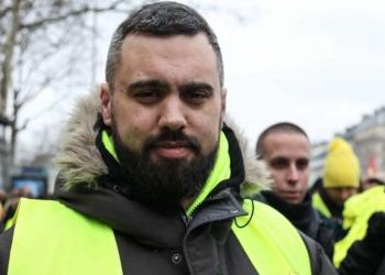 Eric Drouet  PH : AFP / Zakaria ABDELKAFI