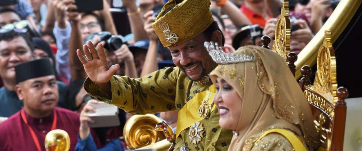 Le sultan Hassanal Bolkiah  | PHOTO AFP.