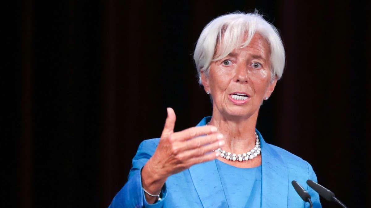 Christine Lagarde © AFP / JAN WOITAS / dpa-Zentralbild / dpa Picture-Alliance