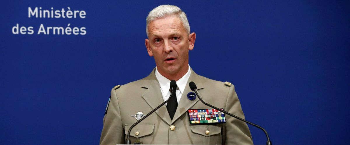 Général François Lecointre. Photo REUTERS/Benoit Tessier