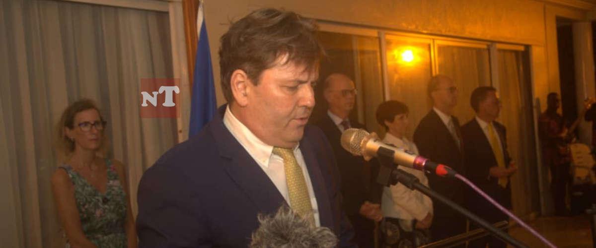 SEM Oliver NETTE, Chef de la Délégation de l'UE