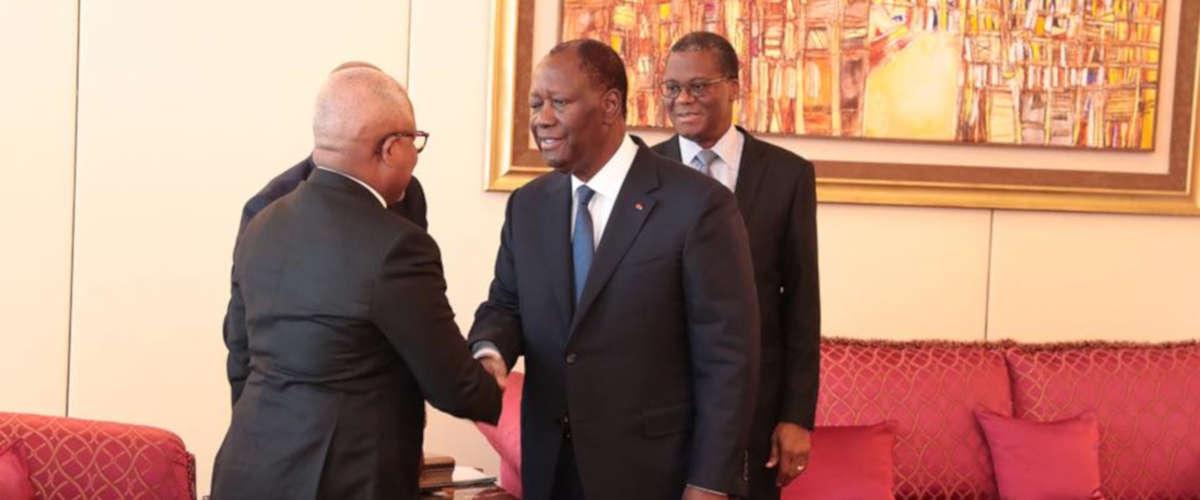 @ Facebook Présidence de la République de Côte d'Ivoire