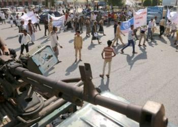 Des militants houthis. Ph : Abduljabbar Zeyad, AFP
