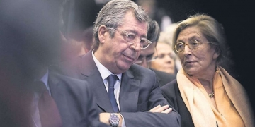 Le couple Balkany. (Vincent Isore/IP3 Press/Maxppp)