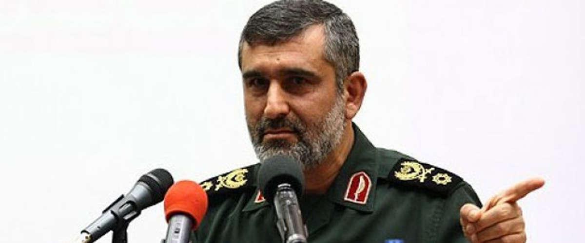 Général Amir-Ali Hadji-Zadeh, commandant de la force aérospatiale du Corps des gardiens de la Révolution islamique