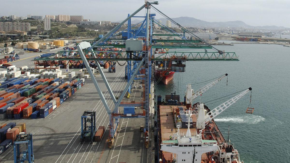 image d'illustration / Port de Dakar