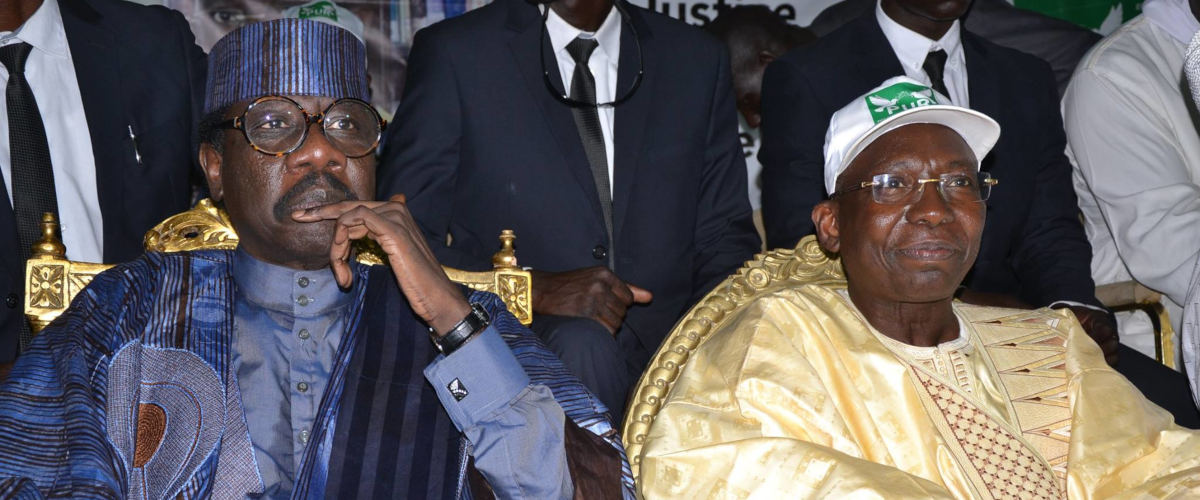 Moustapha Sy et Issa Sall