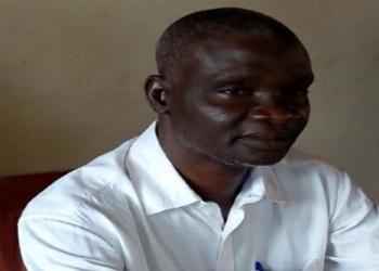 Sylvain Dahouè, maire d'Aplahoué