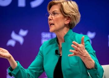 Le sénateur Elizabeth Warren. Sergio Flores / Getty Images