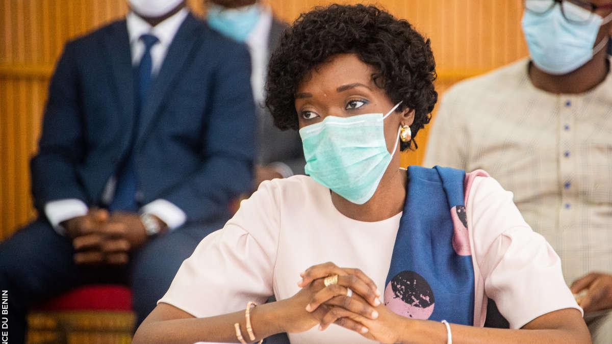 Shadiya Assouman, Ministre de l'Industrie et du Commerce. Photo : Présidence Bénin