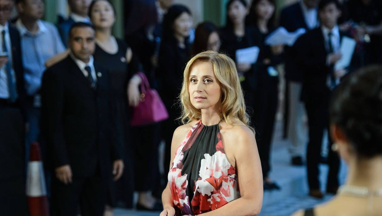 Lara Fabian | ANTHONY WALLACE / AFP Afficher le diaporama