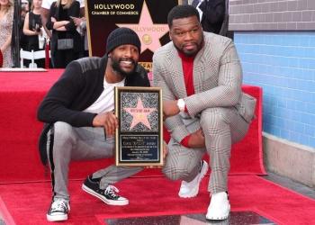 50 Cent a désormais son étoile sur le Hollywood Walk of fame. Photo de Leon Bennett / Getty Images.