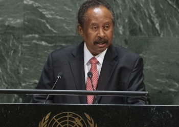 Le Premier ministre soudanais Abdalla Hamdok (Source: AP Photo / Kevin Hagen)