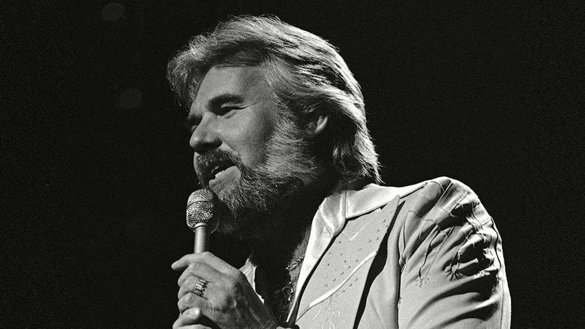 Mandatory Credit: Photo by Anonymous/AP/Shutterstock (6600143a) Kenny Rogers performs at the Country Music Awards in Nashville, 1977 Kenny Rogers 1977, Nashville, USA
