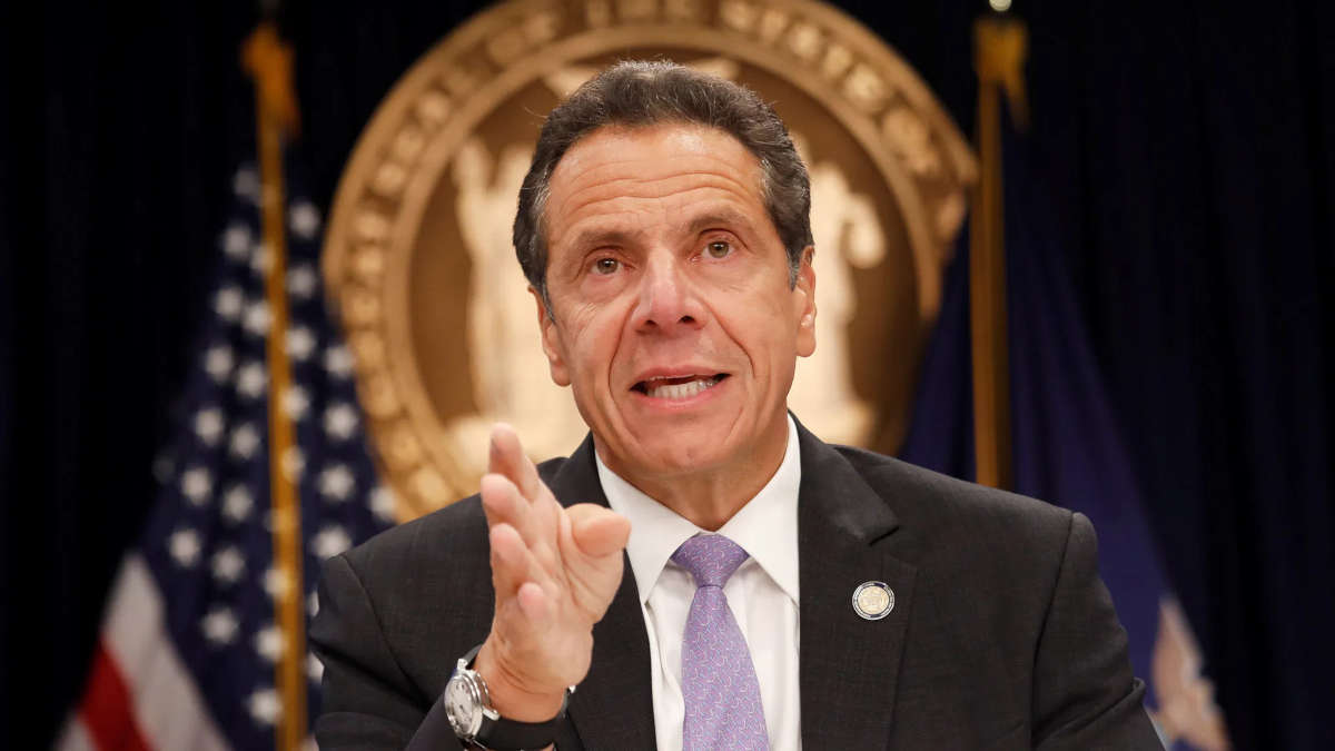 Andrew Cuomo, Gouverneur de New York. Photo : Shannon Stapleton/Reuters