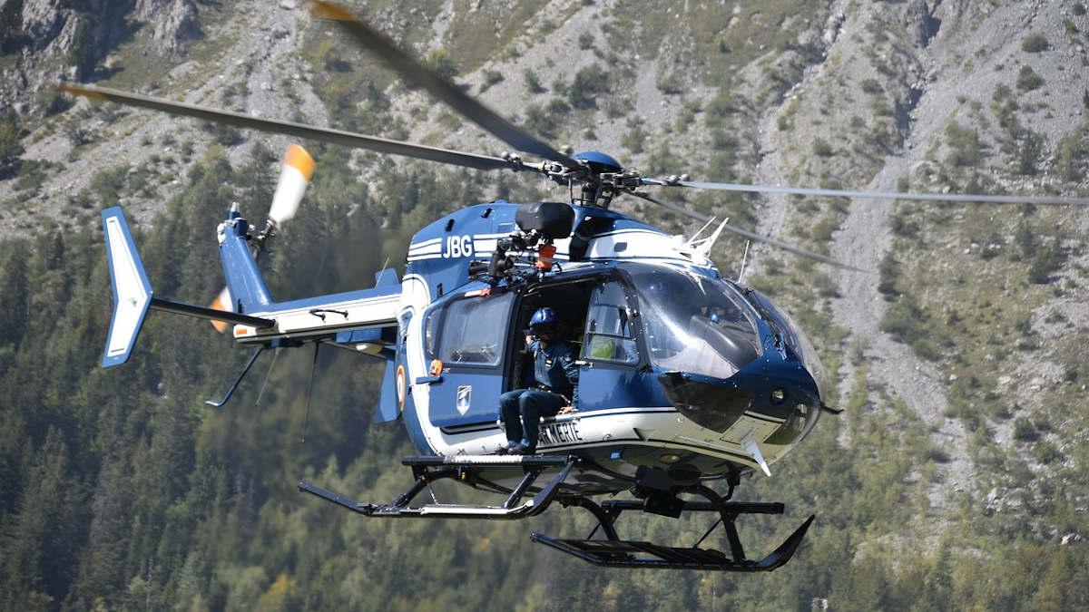 Crash d'un hélicoptère avec six personnes à bord — Savoie