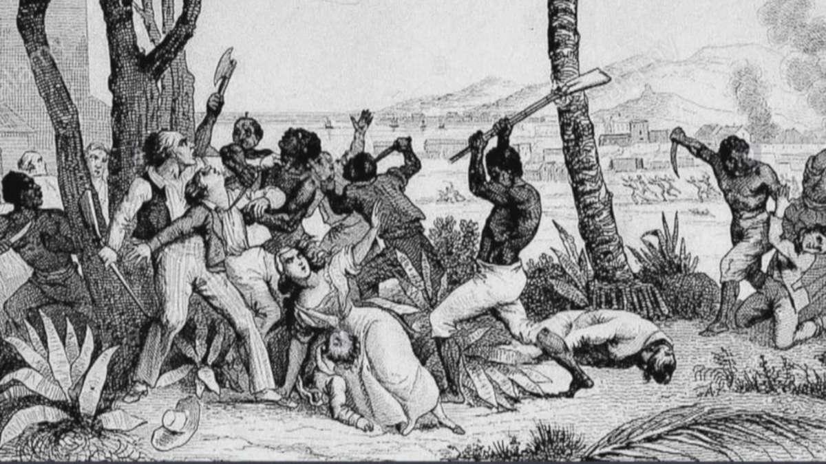 Photo de la révolte des esclaves du Carbet (photo NOFI)