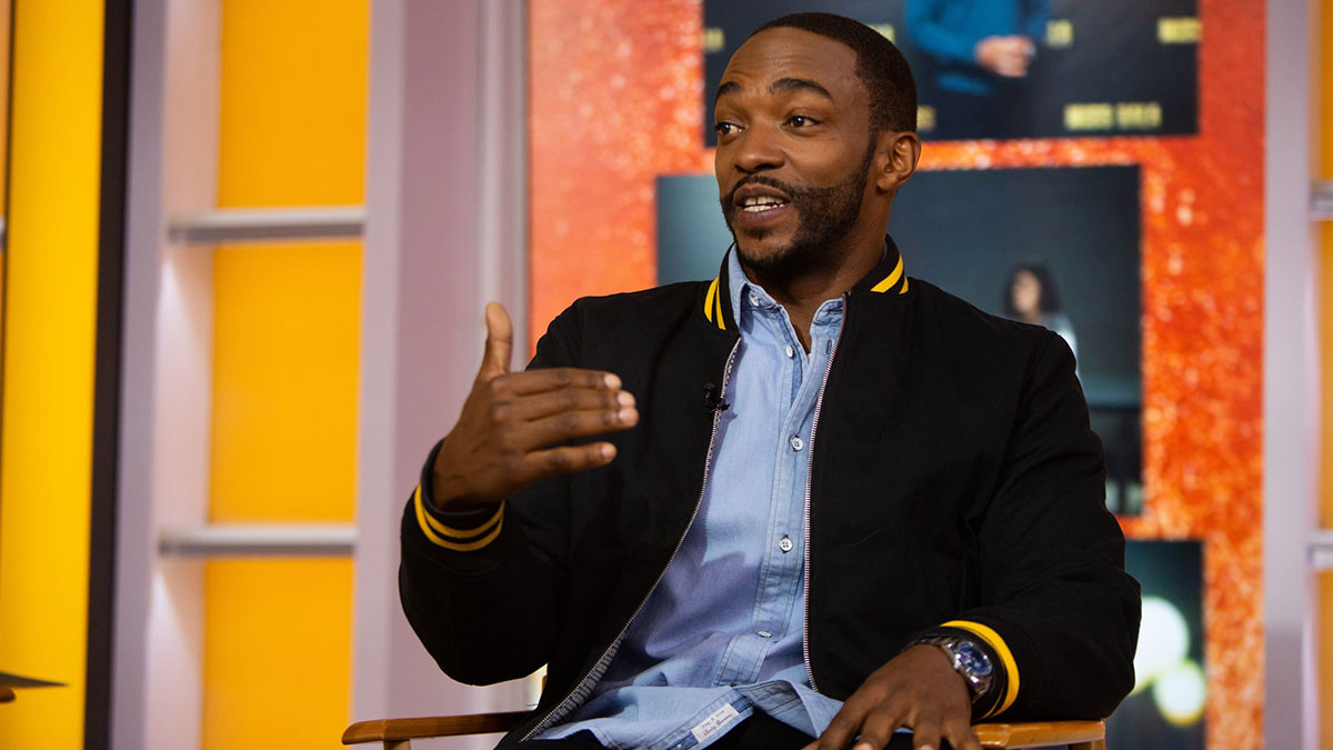 Anthony Mackie. Photo : Nathan Congleton / NBC/NBCU Photo Bank