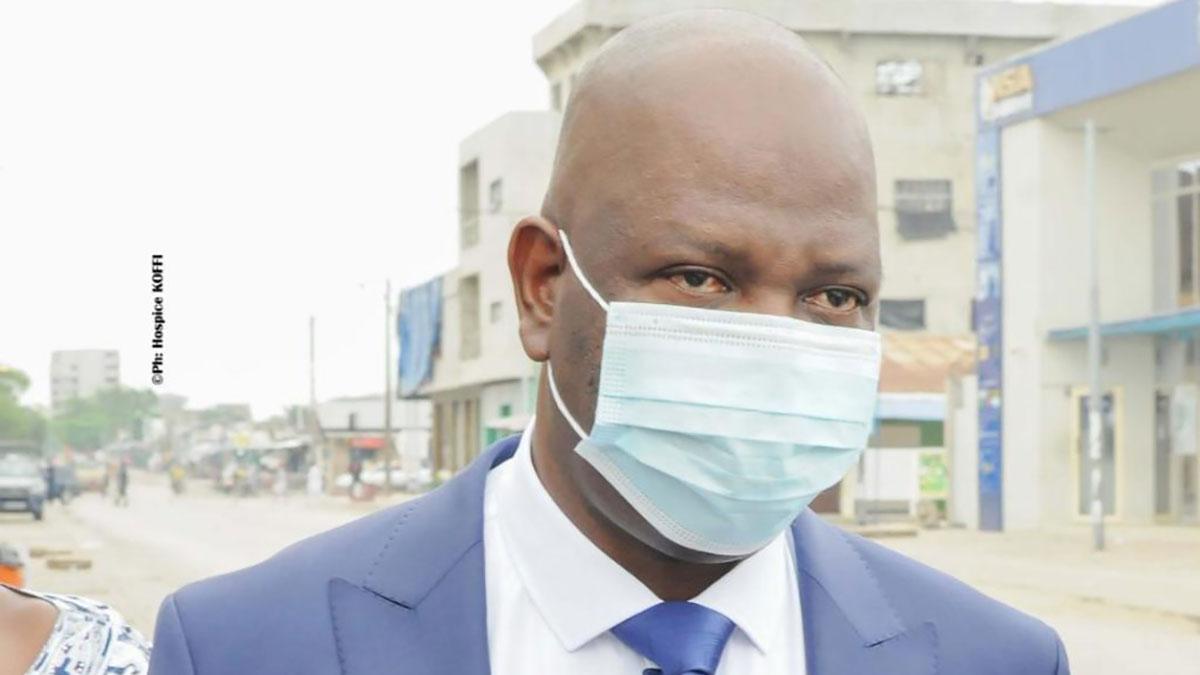 Luc Atrokpo, maire de Cotonou