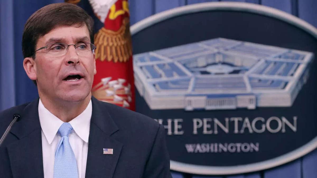 Mark Esper, ministre de la défense. Photo : CHIP SOMODEVILLA / GETTY IMAGES NORTH AMERICA / AFP