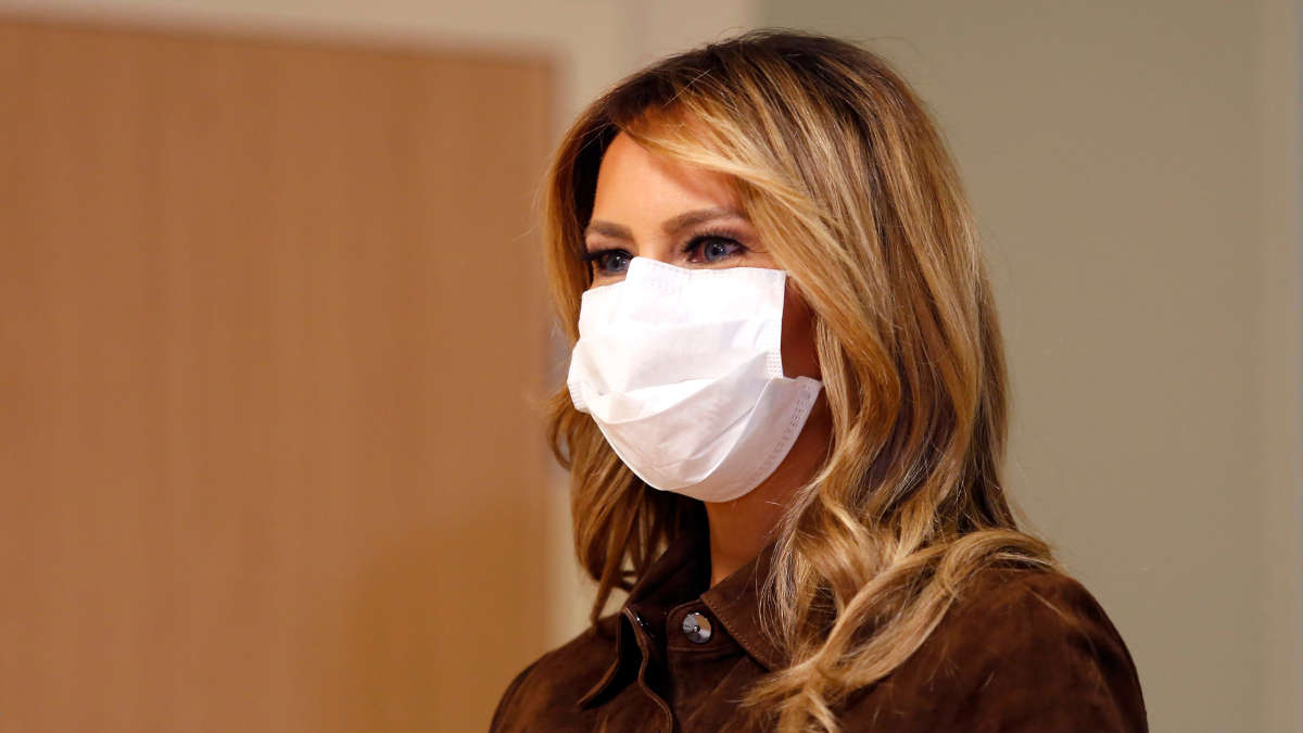 Melania Trump (photo de Mary Schwalm, AP)