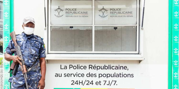 Un agent de la police républicaine béninoise. Photo : Présidence Bénin