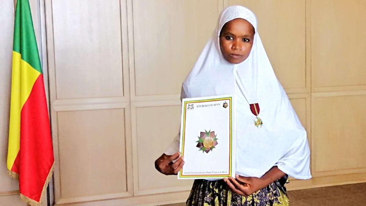 Madame Sakinatou HAROUNA a été nommée Chevalier de l'Ordre National du Bénin