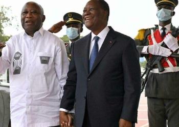 Gbagbo Ouattara (Photo ©AFP/Issouf )