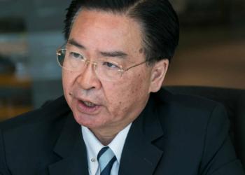 Joseph Wu - Ministre des affaires étrangères taïwanais Photo : Bloomberg