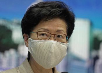 Carrie Lam, cheffe du gouvernement local de Hong Kong PHOTO : ASSOCIATED PRESS / VINCENT YU