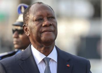 Alassane Ouattara (Photo de  Issouf Sanogo / AFP)