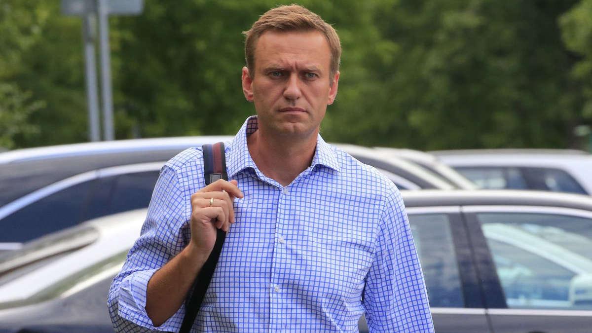 Alexei Navalny. File pic