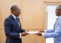 Remise du rapport sur les Droits de l'Homme au Bénin-19 au chef de l'Etat béninois - Photo : Presidence benin