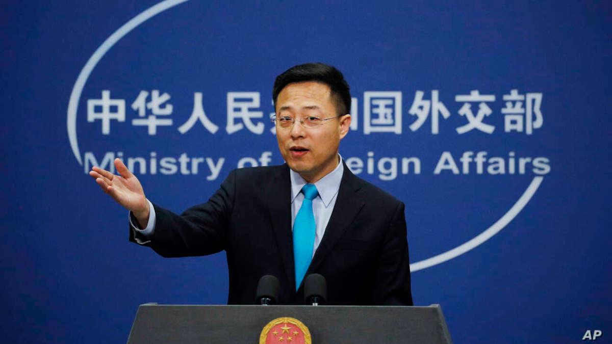 Zhao Lijian, porte-parole du ministère chinois des Affaires étrangères